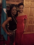 Me and Leslassa Amour-Shillingford Miss Dominica 2013